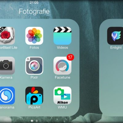 Fotografie Apps