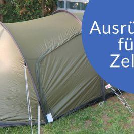 Camping Ausrüstung | Was wir mitnehmen und Tipps für Dich