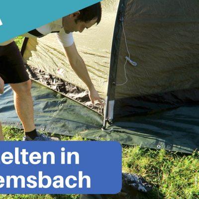 Zelten Hemsbach
