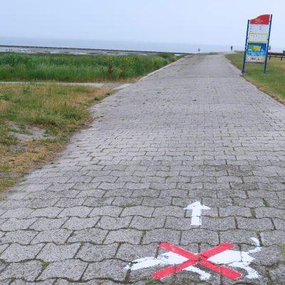 Hundewanderweg in Dornumersiel