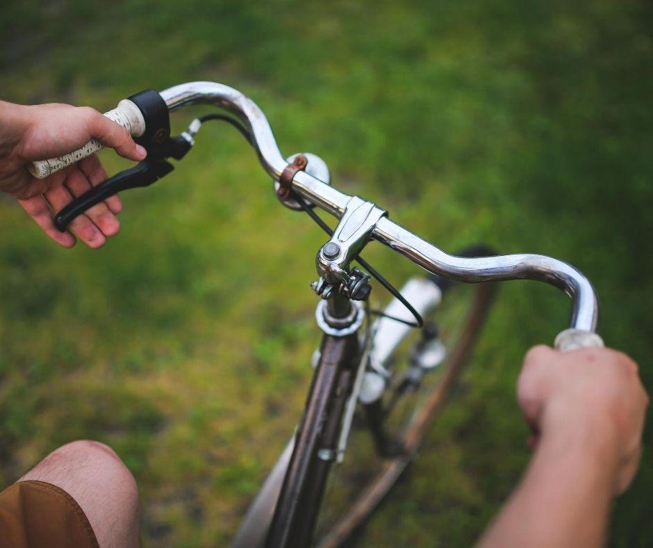 Reisen mit Fahrrad und Zelt