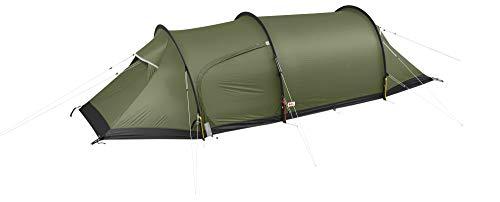 Fjallraven Unisex-Adult Keb Endurance 2 Tunnel Tent, Pine Green, OneSize