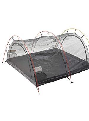 FJÄLLRÄVEN Mesh Inner Tent Endurance 4Zubehör für Geschäfte, Unisex Erwachsene, Black, Einheitsgröße