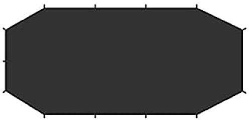 FJALLRAVEN Endurance 4 Footprint Zubehör für Camping und Wandern, Unisex Erwachsene, Schwarz (Schwarz), Einheitsgröße